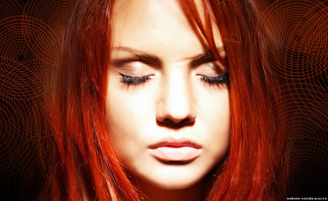 Хна на окрашенные в рыжий волосы